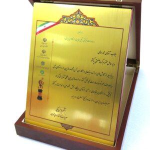 صادرکننده نمونه استان تهران