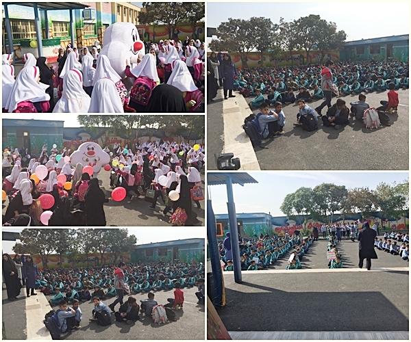 دانش آموزان و حامیان پاکشو